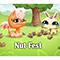Онлайн игра для девочек Маленький Зоомагазин Орехи