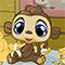 Онлайн игра для девочек Маленький Зоомагазин Бананы