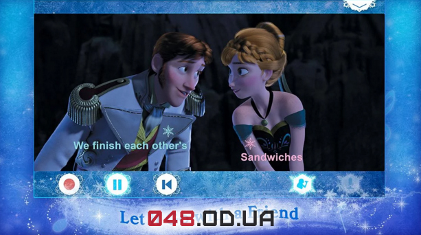Игра на Android Disney Karaoke: Frozen