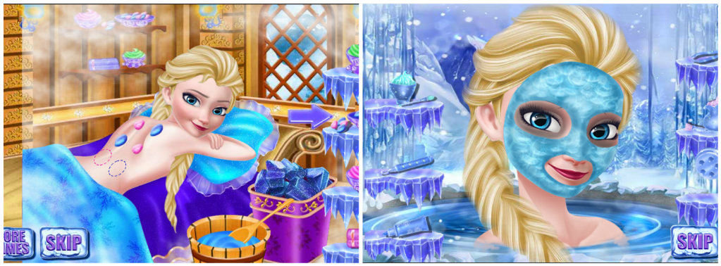 Игра на Android Ice Queen Make Salon