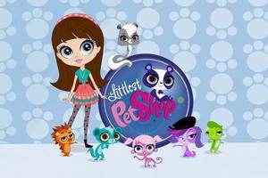 Игрушки зверушки Литл пет шоп (Littlest pet shop)ess Gang овощи, фрукты из супермаркета Билла