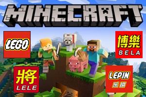 Конструкторы MINECRAFT - LEGO, BELA, LELE, LEPIN