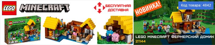 LEGO Minecraft Фермерський будиночок (21144)