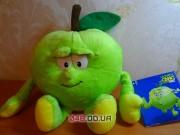 Alex Apple, фрукт Яблоко мягкая игрушка Goodness Gang (коллекция 2)