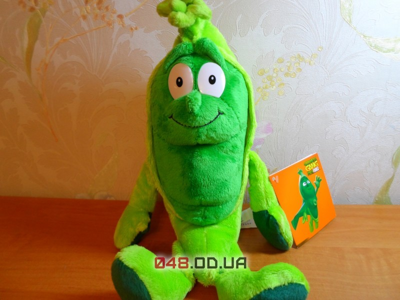 Peter Pea, овощ Горошек мягкая игрушка Goodness Gang (коллекция 2)