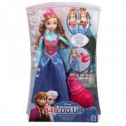 Кукла Mattel принцесса Анна (меняет цвет платья)