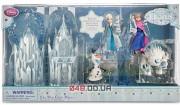 Игровой набор мини замок-сумочка Дисней Анна и Эльза + персонажи