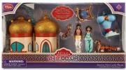 Игровой набор Дисней мини замок-сумочка принцесса Жасмин и Алладин + персонажи