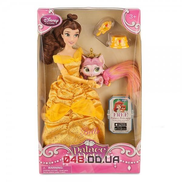 Кукла принцесса Дисней Белль с королевским питомцем