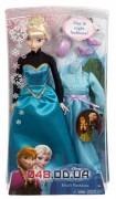 Кукла Эльза Mattel Холодное сердце день коронации (Frozen Coronation Day Elsa Doll) с одеждой 03006