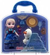 Набор мини куколка Disney аниматор малышка Эльза (Frozen, Холодное сердце) с набором игрушек
