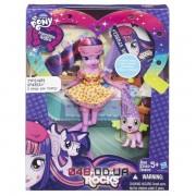 Кукла My Little Pony Hasbro Искорка и Спайк (Equestria Girls twilight) шарнирная