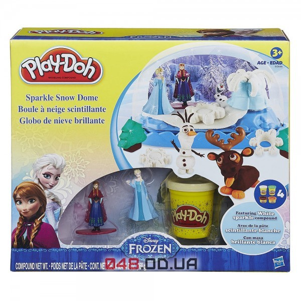 Набор пластелина Play-Doh Дисней Анна и Эльза