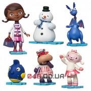 Игровой набор фигурок Доктор Плюшева Disney (Doc McStuffins) все герои - 1й вид