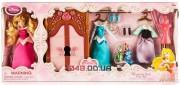 Игровой набор Дисней мини кукла Аврора (в комплекте аксессуары и платья)