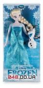 Кукла принцесса Дисней Эльза с олафом,коллекция 2016 г., 30 см.
