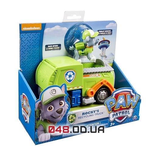 Игровой набор Рокки и мусоровоз Щенячий патруль (Rocky's Recycling Truck)