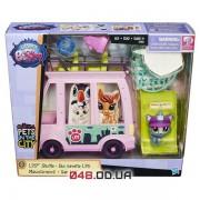 Игровой набор Littlest pet shop Автобус розовый (B3806)