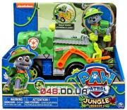 Игровой набор Рокки и машина Spin master Щенячий патруль(Paw Patrol Jungle Rescue Rocky and Rocky's Jungle Truck), серия