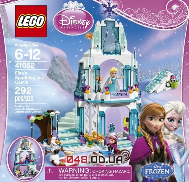 Конструктор LEGO Disney Princesses Ледяной замок Эльзы (41062)