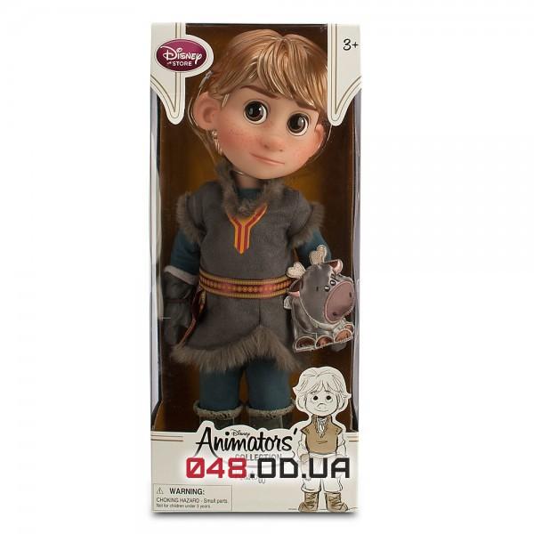 Кукла аниматор Дисней Кристофф в детстве Холодное сердце с питомцем (Disney Animators' Collection Frozen Kristoff Doll with Sven),40 см.