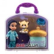 Игровой набор Дисней кукла мини аниматор Жасмин с аксессуарами в чемоданчике