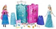 Подарочный набор куклы Эльза и Анна Mattel + гардероб с одеждой Холодное сердце (Disney Frozen Anna and Elsa's Royal Closet Gift Set)