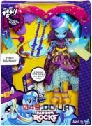Кукла My Little Pony Hasbro Трикси Луламун (Equestria Girls) с гитарой