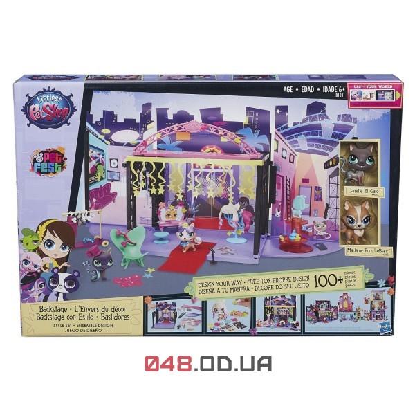 Игровой набор Littlest pet shop За кулисами B1241