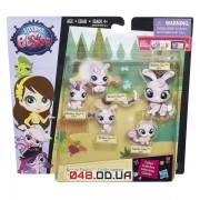 Игровой набор Littlest Pet Shop Большая удивительная семейка Кролики B1902/B1959