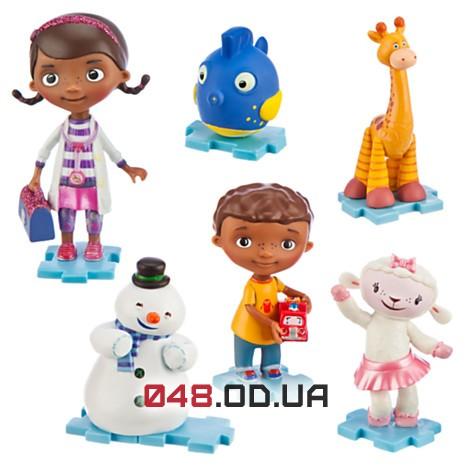 Игровой набор фигурок Доктор Плюшева Disney (Doc McStuffins) все герои - 2й вид