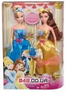 Игровой набор Mattel из 2-х кукол Дисней Золушка и Белль