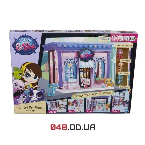 Игровой набор Littlest pet shop Стильный зоомагазин A7322