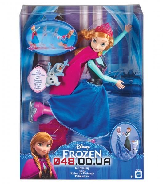 Кукла Анна катается на коньках (Холодное Сердце,Frozen)