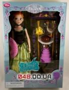 Игровой набор Дисней Кукла поющая deluxe принцесса Анна с аксессуарами