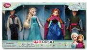 Набор мини кукол: Эльза, Анна,Кристофф и Ганс (Холодное сердце, Frozen)