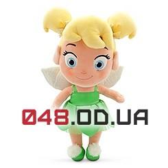 Плюшевая игрушка - куколка фея Динь-Динь, 30 см