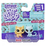 Игровой набор Littlest pet shop Котята голубой и желтый (B9389/C1677)