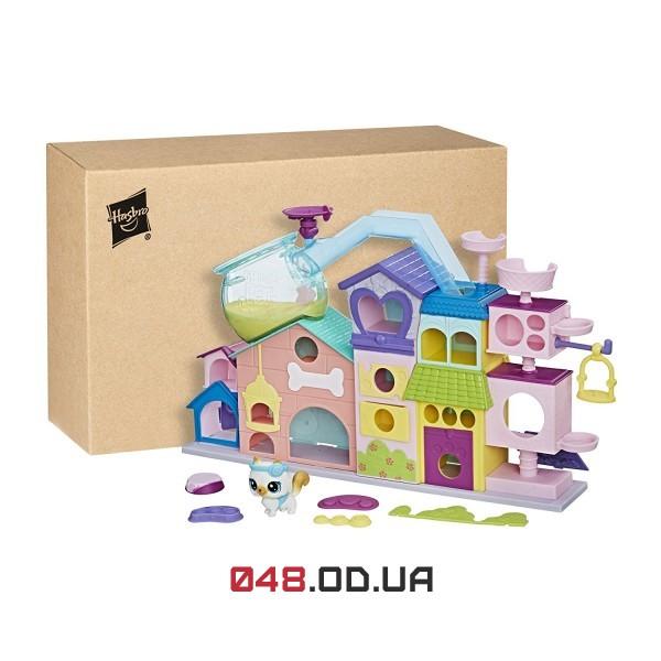 Игровой набор Littlest Pet Shop Аппартаменты для петов (котенок в наборе) C1158