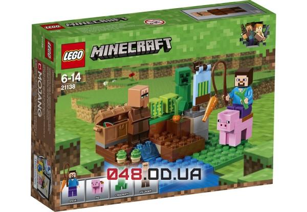 LEGO Minecraft Бахчевая ферма (21138)