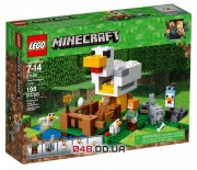 LEGO Minecraft Курятник 198 деталей 2018 год (21140)