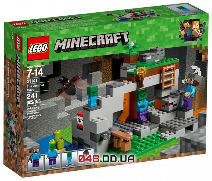 LEGO Minecraft Пещера зомби (21141)