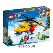 LEGO City Гелікоптер швидкої допомоги (60179)