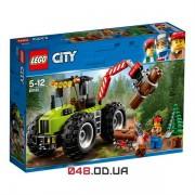 LEGO City Лісоповальний трактор (60181)