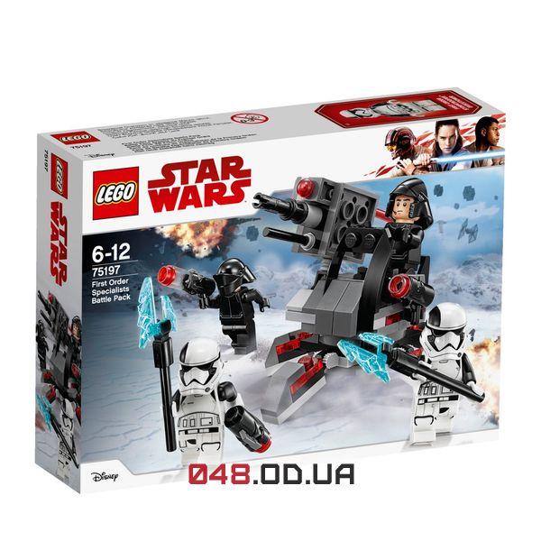 LEGO Star Wars Бойовий комплект фахівця Першого Ордену (75197)
