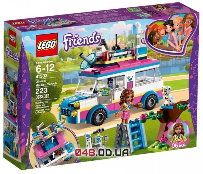 LEGO Friends  Передвижная научная лаборатория Оливии (41333)