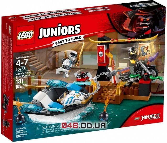 LEGO Juniors Преследование на лодке Зейна (10755)