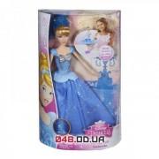 Кукла принцесса Золушка с развивающейся юбкой, крутится на колесиках