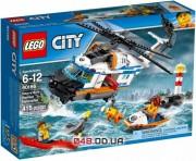 LEGO City Сверхмощный спасательный вертолёт (60166)