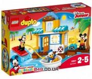 LEGO DUPLO Микки и друзья: пляжный домик (10827)